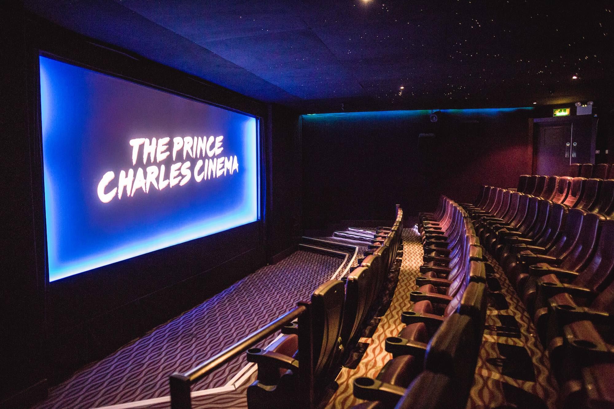 Types Of Vans >> The Prince Charles Cinema - Screening Map UK