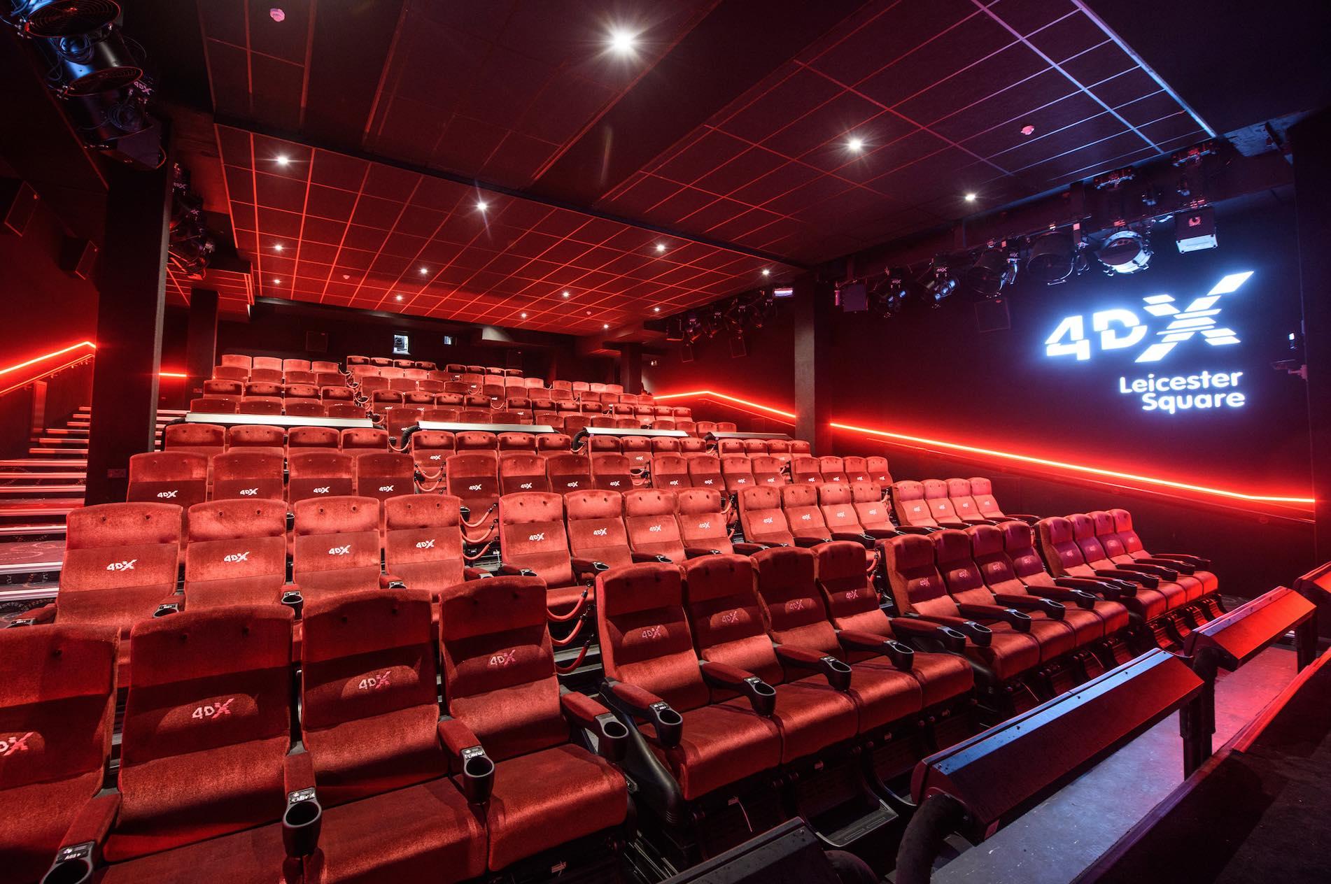 Cineworld Leicester Square Screening Map Uk