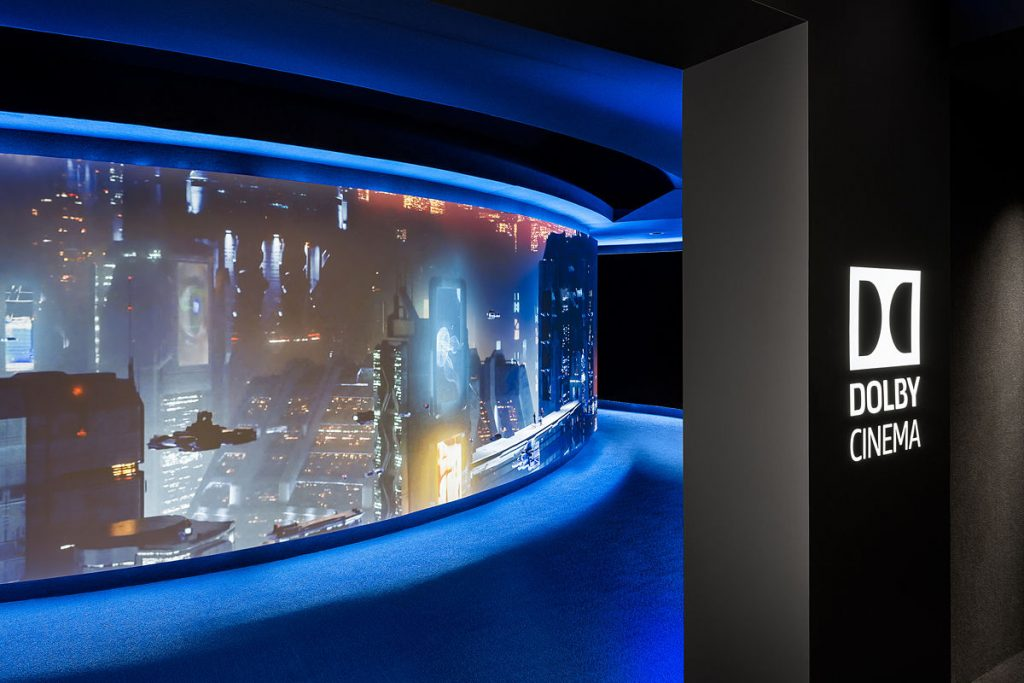 Dolby Hollywood screening room