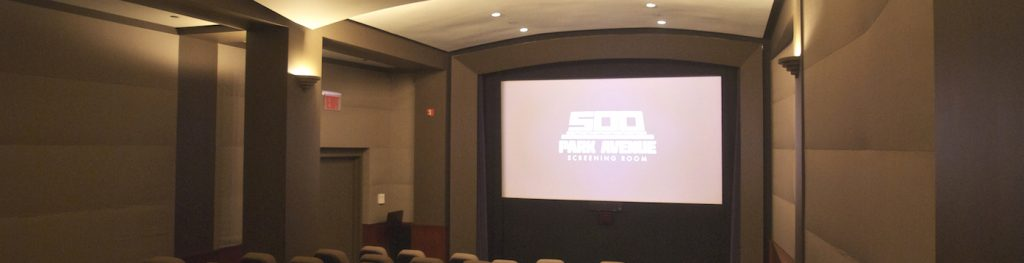 500 Park Ave Screening Room masthead