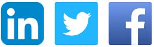 Social channels as logos